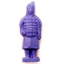 Nicole 3D Silicone Soap Mold Terra Cotta Warriors Shapes DIY Handmade Candle Making Mould