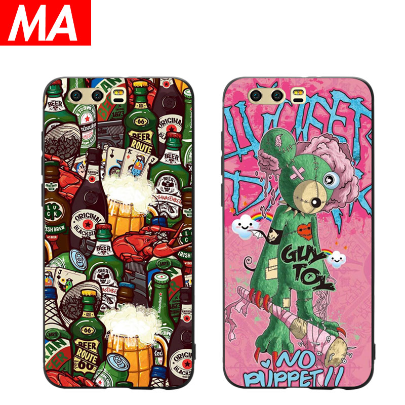 MA The Rock Phone Case For Huawei P8 lite 2017 P9 P10 P20 Lite Plus Nova Honor 6C 6A 6X Honor 8 Honor 9 Mate 10 lite