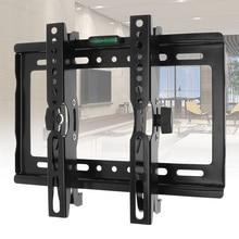 Universal 25KG Adjustable TV Wall Mounts Bracket Flat Panel Rack Frame Support 15 Degree Tilt Angle for 14-42 Inch LCD LED