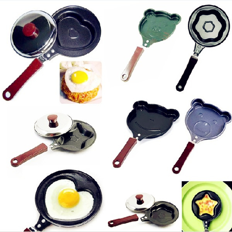 2017 Saucepan Healthy Nonstick Stainless Frying Pan Eco Fry (no Lids) Skillet Freeshipping & Wholesale 9-design Style Optional