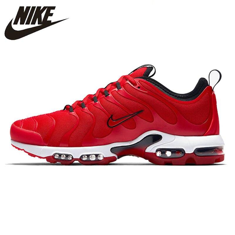 Nike nouveauté Air Max Plus Tn chaussures de course pour hommes à la mode confortable léger maille baskets #898015-600