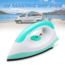 12V 150W 50Hz Portable Electric Clothes Handheld Dry Iron For Camper Travel Outdoor Non-stick Soleplate Automatically Adjust clothes iron
