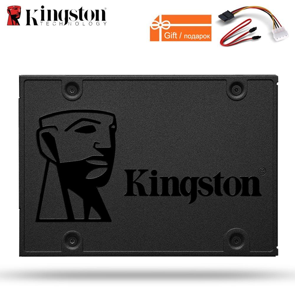 Kingston ssd 240 gb digital A400 SSD 120GB SATA 3 2.5 Solid State Drive wholesale Dropshipping Games HDD Hard Disk HD 480gb SSD