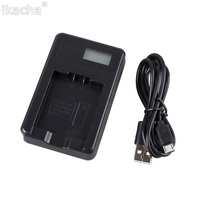 CNP 130 NP 130 USB LCD Camera USB Battery Charger For Casio CNP130 EX H30 H35
