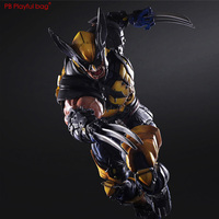 Revengers Ultra Wolverine Hero 26cm model Exquisite hands head changable and movable Action Figure HA34