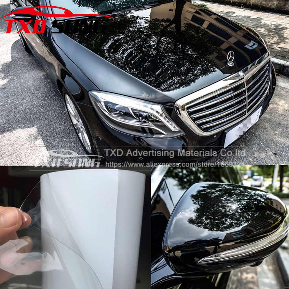 10/20/30/40/50/60 CM X 152 CM/LOT Rhino Huid Auto bumper Hood Paint Protection Film styling Vinyl Clear Transparence Film