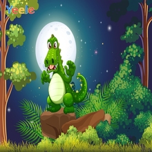Yeele Photocall Cartoon Forest dinosaur Room Decor Photography Backdrops Personalized Photographic Backgrounds For Photo Studio