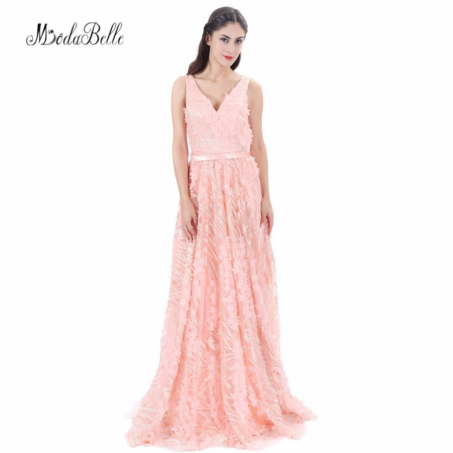 Modabelle sexy backless 3D flor floral Vestidos de baile 2018 ...