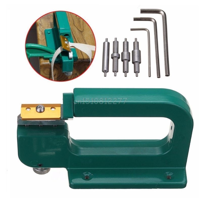 Leather Craft Splitter Skiver Paring Peeling Machine Edge Cut Skiving Shovel DIY #H0VH# Drop Shipping