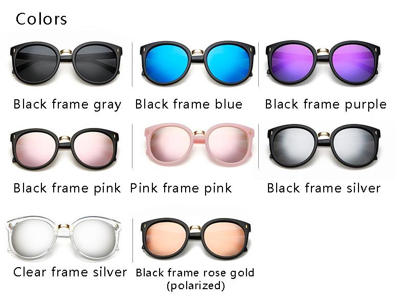 HTB1hyWySpXXXXXVXFXXq6xXFXXXC - OHMIDA Mirror Sunglasses Women's 2018 Arrow Round Brand Sunglasses Pink UV400 Vintage New Fashion