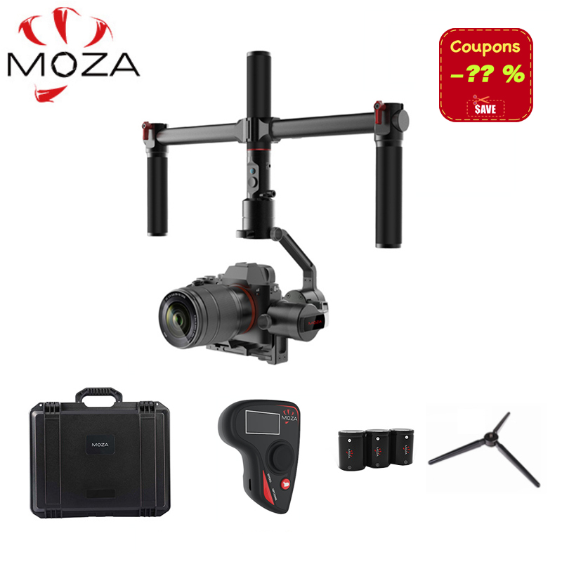 MOZA AirCross 3 Assi Handheld Gimbal per Mirrorless Parametro di Carico 1800g Auto-Tuning L'esposizione A Lungo Time-lapse PK Zhiyun Gru M