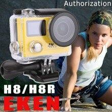EKEN H8R/H8 Ultra HD 4 K Cámara de Acción WIFI Controlador Remoto VR360 Cámara Go Pro Yi Deporte DVR Casco A Prueba de agua + Opción Monopie
