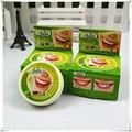 25g originais Tailândia dente creme dental à base de plantas anti-bactérias manchas de clareamento remover fumaça chá amarelo placa halitose oral care
