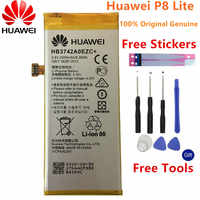 100% Original Replacement Battery For Huawei P8 Lite battery 2200mAh HB3742A0EZC+ accumulators For Huawei P8 Lite +Free Tools