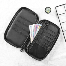 Passport Cover ID Business Card Holder Travel Credit Wallet for Men Purse Case Driving License Bag women wallet passport case cover wallet multicolor men zipper purse travel storage bag organizer bag card holder