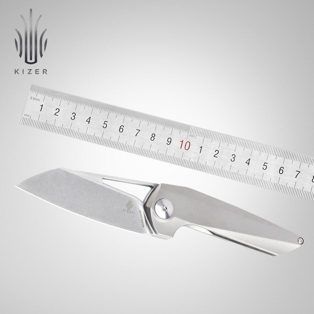 Kizer couteau de chasse nouveauté couteau surival KI4514 Theta meilleurs couteaux pliants pour hommes