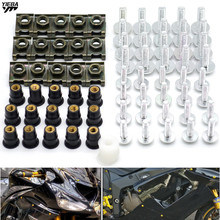 Unicersal Motorcycle fairing screw bolt windscreen screws FOR Yamaha R3 R25 YZF R1 YZF R6 T-MAX500 TMAX530 Honda MSX125 GW250 gw250 usb t 1