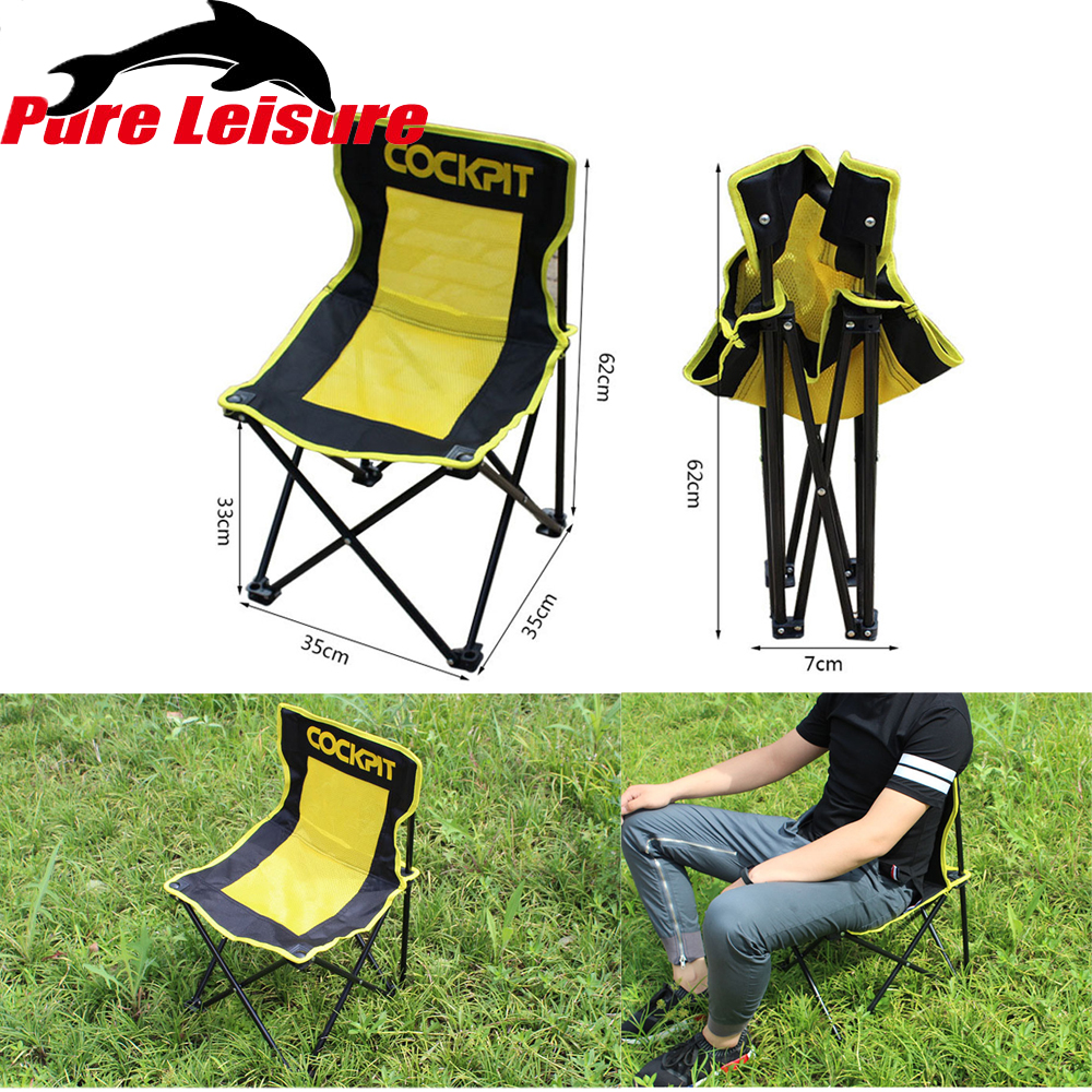 Beach Chairs Outdoor Furniture Garden Furniture Camping Chair Kamp Sandalyesi Fishing Chair Muebles Portable Silla Playa Chaise 50% OFF Furniture Beach Chairs