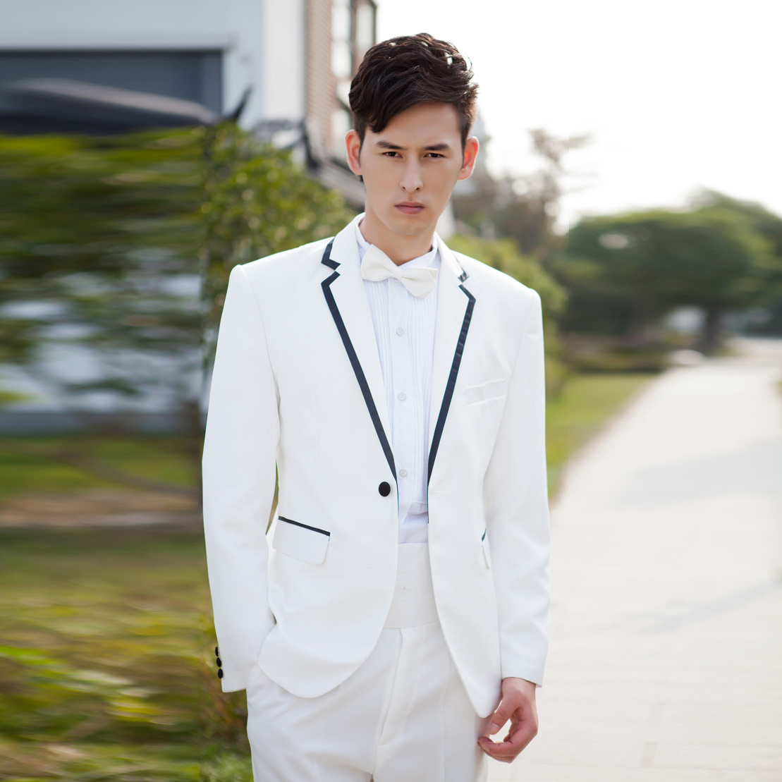 Online Get Cheap White Formal Suits Aliexpress