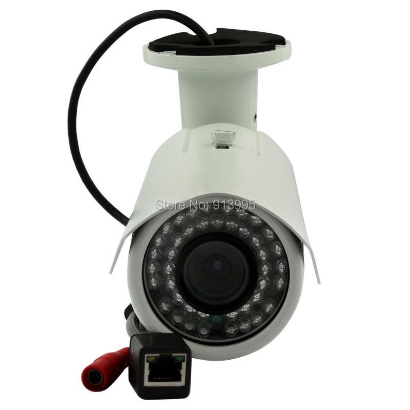 ФОТО 1MP Security Outdoor waterproof CCTV  HD Bullet night vision POE IP camera 720P with IR Cut Filter ONVIF P2P H.264