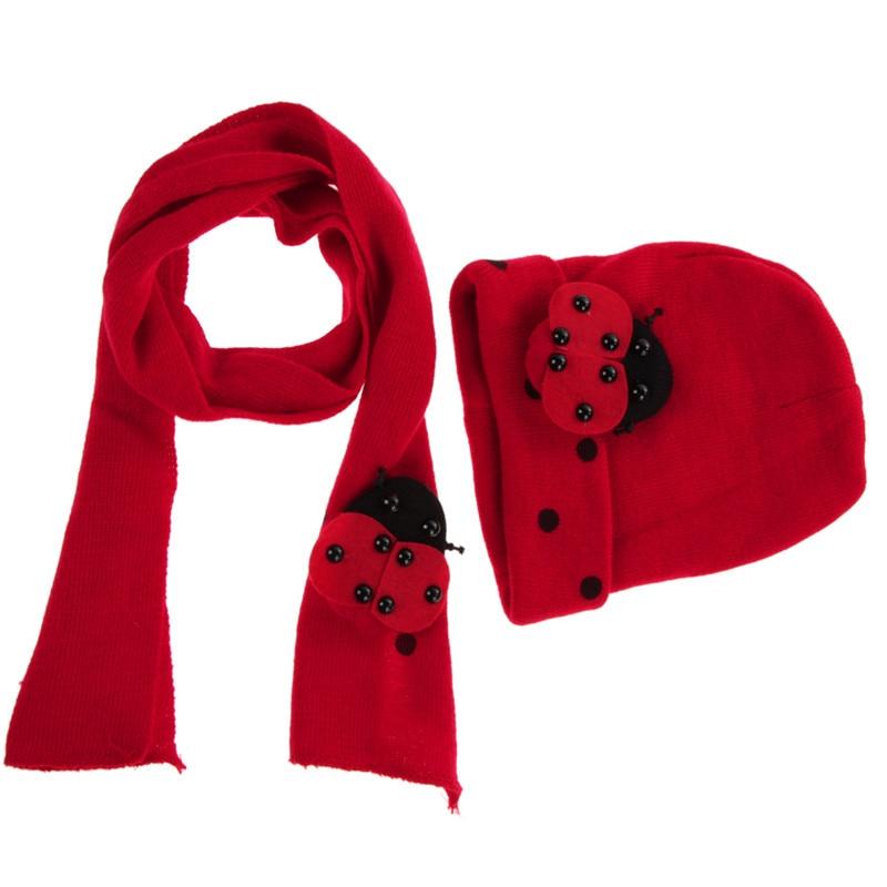 8658c07c6e71 Chaud Bébé Garçons Filles Chapeau Écharpe Ensemble Mignon Tricoté Coton  Chapeaux Bébé Clothing Accessoires pour L hiver Automne Printemps