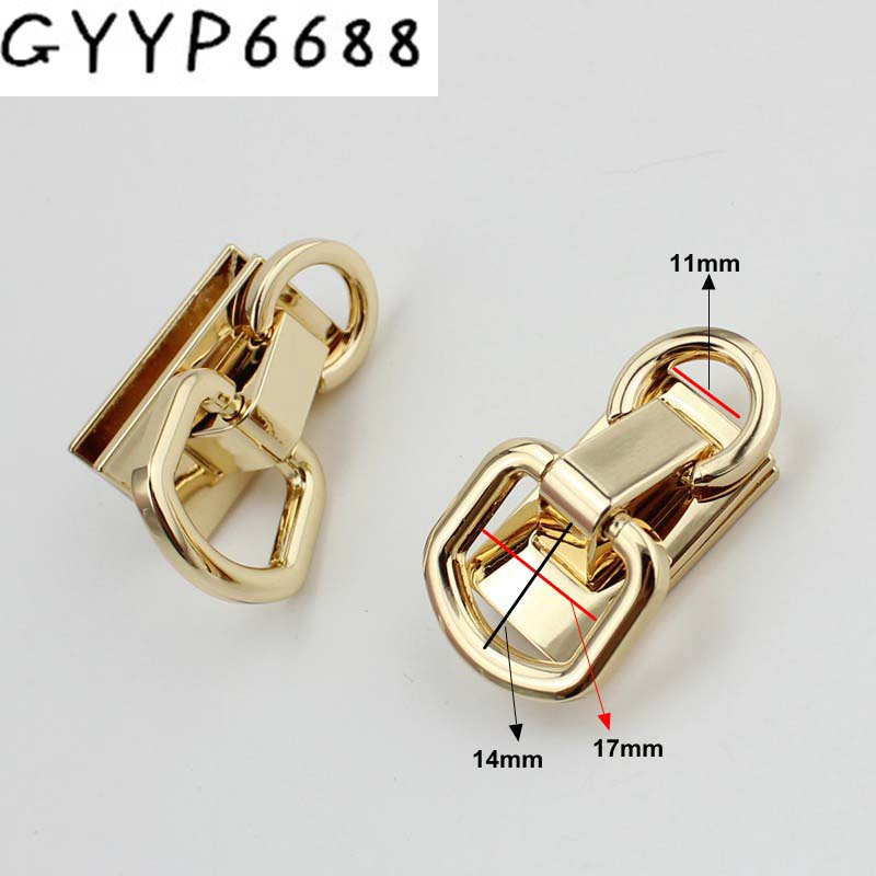 20pcs Luggage hardware accessories on both sides of the bag on the screw D ring female