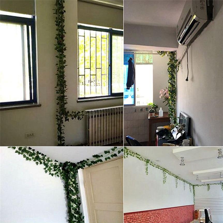 Lovely Pet 12pcs 2.1M Artificial Ivy Leaf Garland Plants