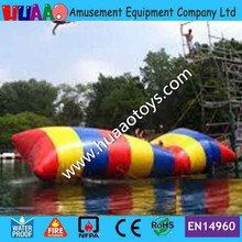 цена на Free Shipping 12*3m 0.9mm Water Pillow Water Blob Jump Inflatable Water Blob for Sale