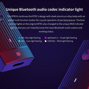 Image 4 - FIIO BTR1K سماعة لاسلكية تعمل بالبلوتوث 5.0 المحمولة مضخم ضوت سماعات الأذن إلغاء الضوضاء USB DAC استقبال الصوت مع هيئة التصنيع العسكري دعم NFC