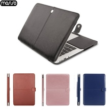 MOSISO PU Leather Case for Apple Macbook Pro 13 Case Air 13 11 Pro Retina 12 13.3 15 Laptop Bag Cover for Mac Book Air13 A1932 binful newest leather waterproof cover bag for mac book air 11 6 13 3 pro retina 12 13 15 laptop bag for mac book pro 13 inch