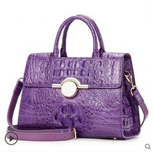 ouluoer Real crocodile Women's handbag lady bag  2017 new tide women's shoulder bag women's shoulder women bag