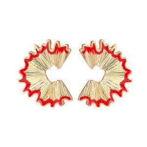 Серьги-карандаши Timlee E111, серьги из сплава с неровной геометрией, модные украшения, оптовая продажа