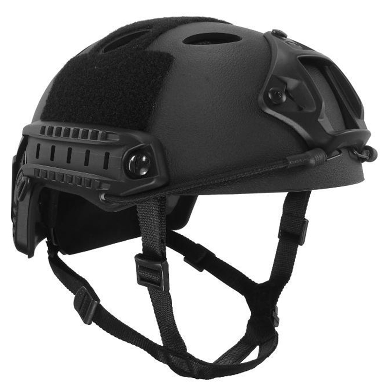 ABS Material Fast PJ Type Standard Tactical Helmet Outdoor CS War Games Hunting Action Version