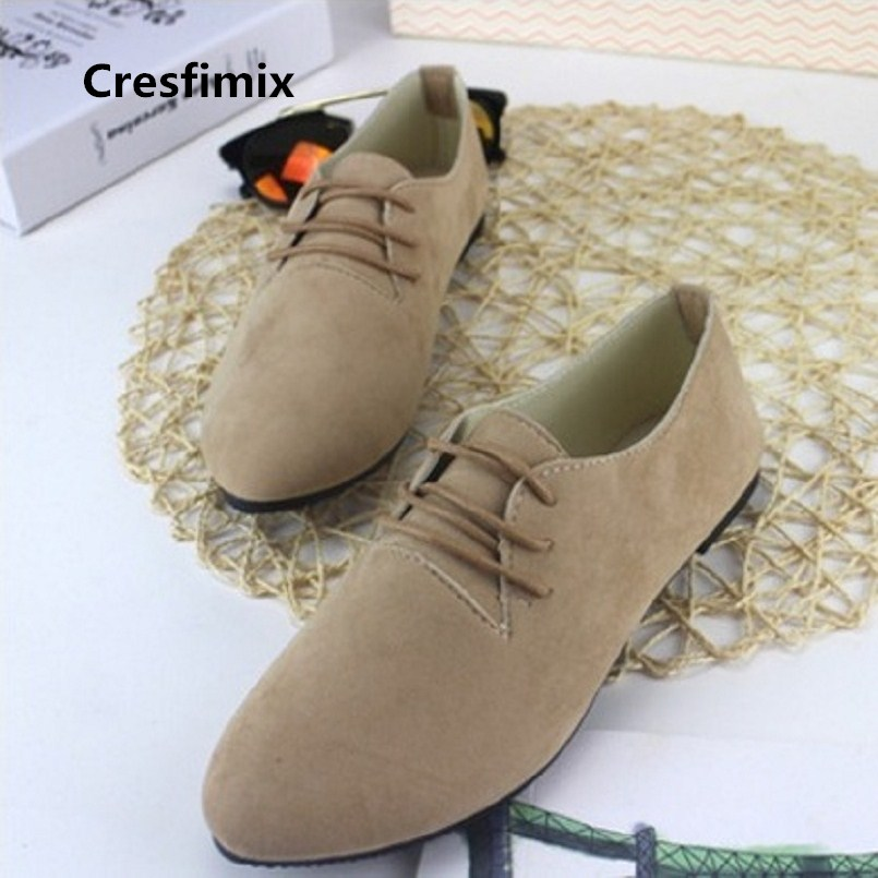 Chaussures Plates Femmes Women Classic Comfortable Lace Up Office Shoes Lady Casual Street Shoes Female Leisure Work Shoes E211Chaussures Plates Femmes Women Classic Comfortable Lace Up Office Shoes Lady Casual Street Shoes Female Leisure Work Shoes E211