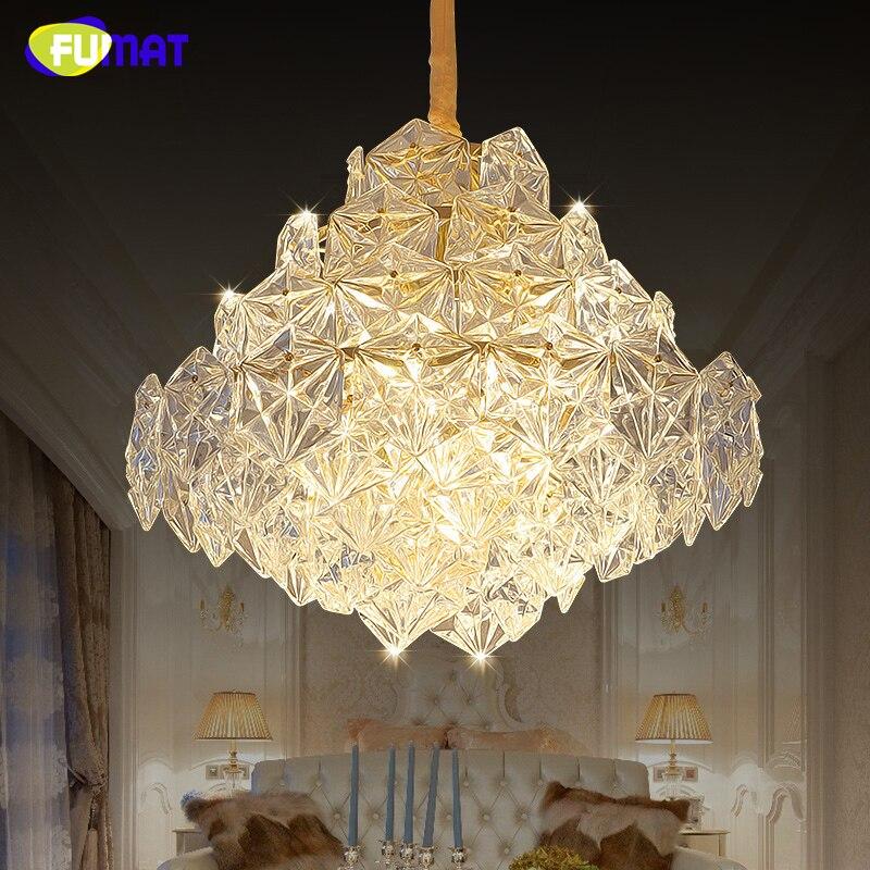FUMAT Post modern K9 Crystal Chandelier Luxury