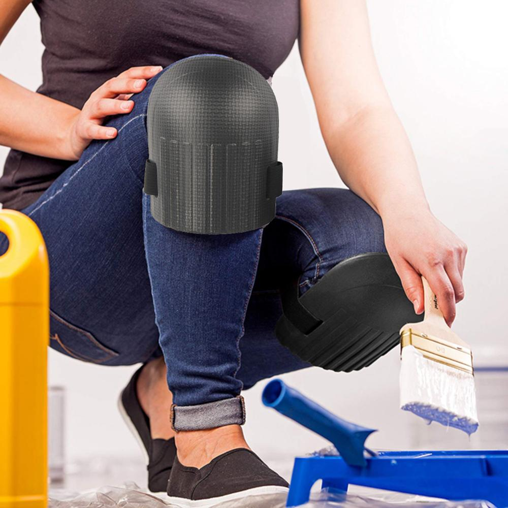 1 Pair Flexible Soft Foam Kneepads Protective Sport Work Gardening Builder EVA knee pads Knee protectors Garden construction