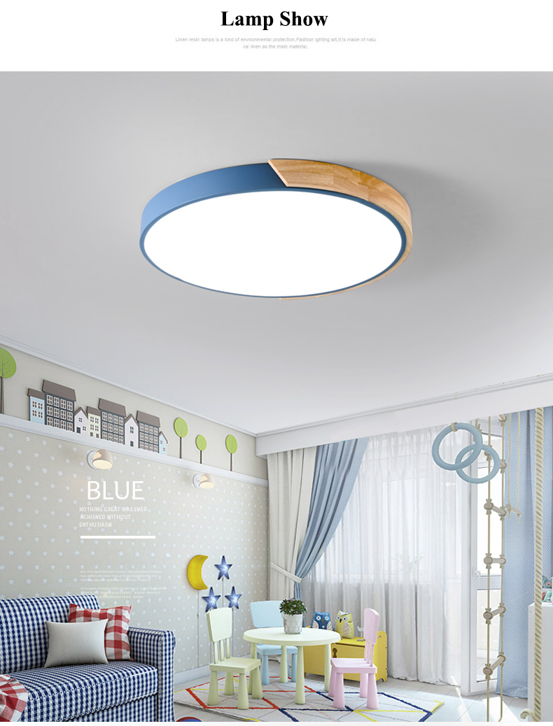 HTB1hyb6KkSWBuNjSszdq6zeSpXaF Nordic Oak App Dimmable Led Ceiling Lights Living Room Round Multicolor Alloy Led Ceiling Lamp Bedroom Led Ceiling Light Fixture