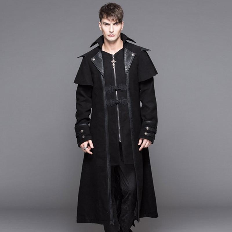 Punk Gothic Gothic Fashion Men S Handsome Jacket 2016