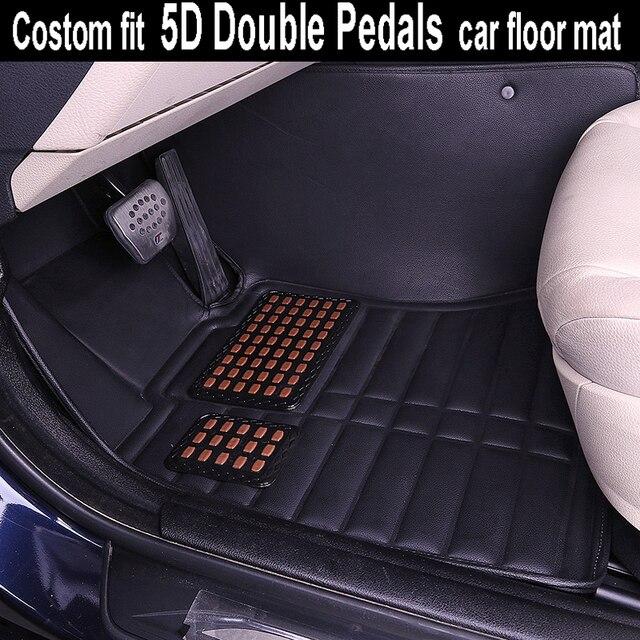Costom fit 5D double pedals car floor mat for Ford Titanium ESCORT FOCUS FIESTA S-  sc 1 st  AliExpress.com & Aliexpress.com : Buy Costom fit 5D double pedals car floor mat for ... markmcfarlin.com