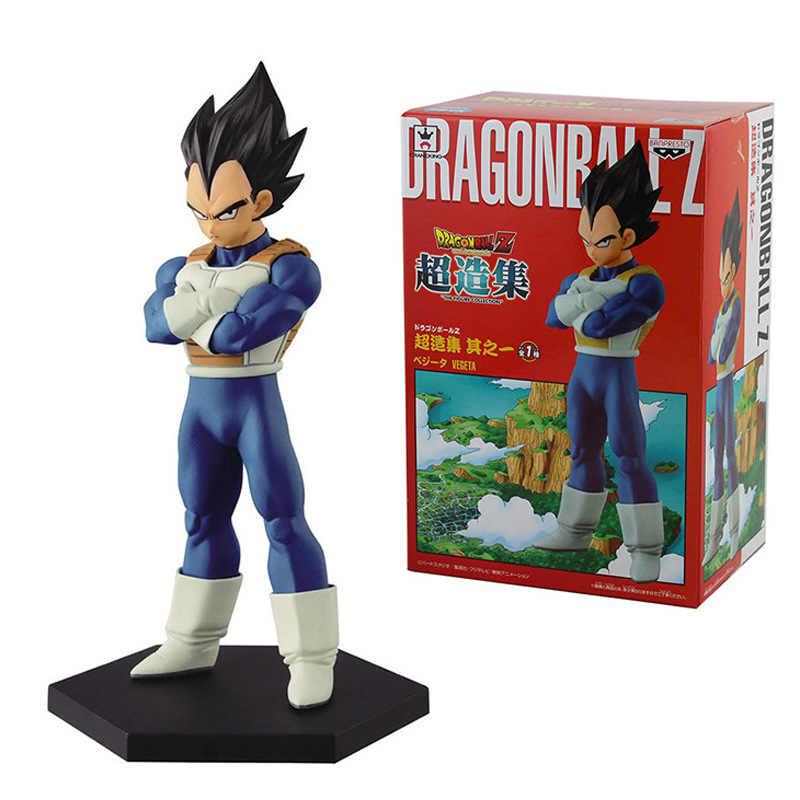 15 cm Dragon Ball Z ressurreição F Vegeta Action Figure PVC coleção figuras brinquedos brinquedos para presente de natal com caixa de varejo