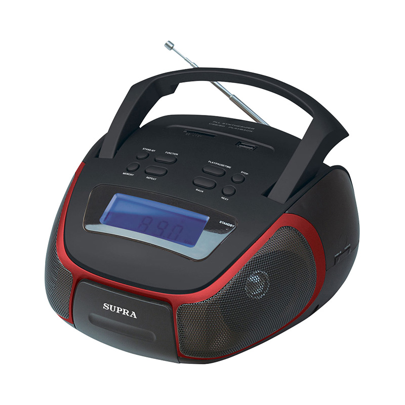 Desktop Digital Music Player SUPRA BB-25MUS 9 inch tft lcd digital touch screen car headrest dvd player multimedia player monitor 1 pcs