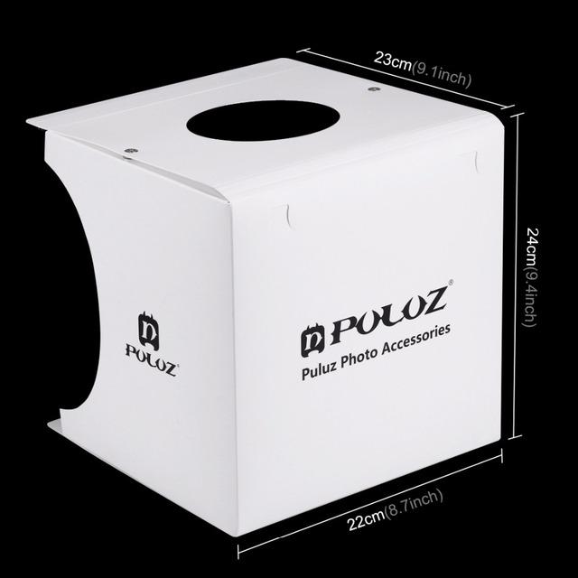 Mini Photo Studio Light Box with Built-inLED