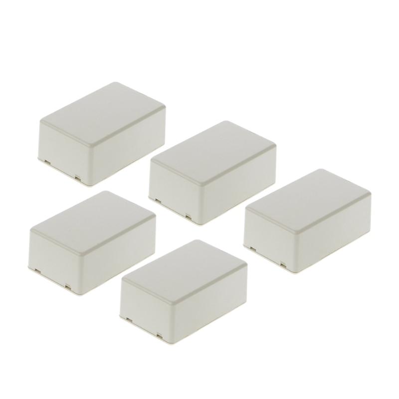 5 шт. пластиковый электронный проект коробка корпус инструмент Чехол DIY 70x45x30 мм