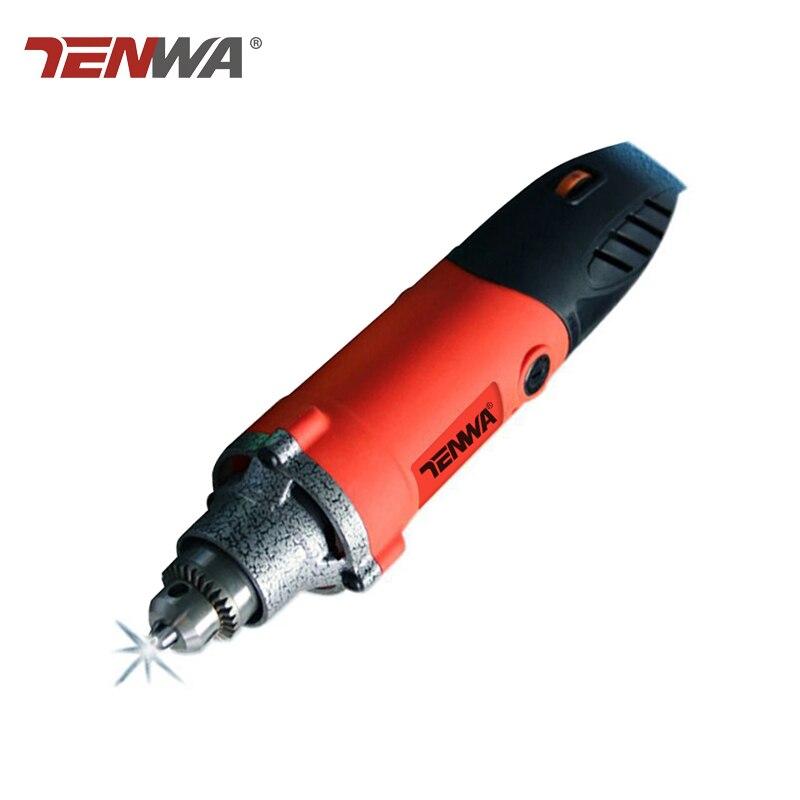 Tenwa 220 v électrique Dremel à vitesse variable outil rotatif maison multi-fonction mini perceuse outil