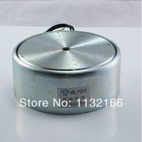 24VDC 100kg 220LB 100mm Holding Electromagnet Lift Solenoid 50mm od 24vdc holding electromagnet lift 50kg solenoid p50 27