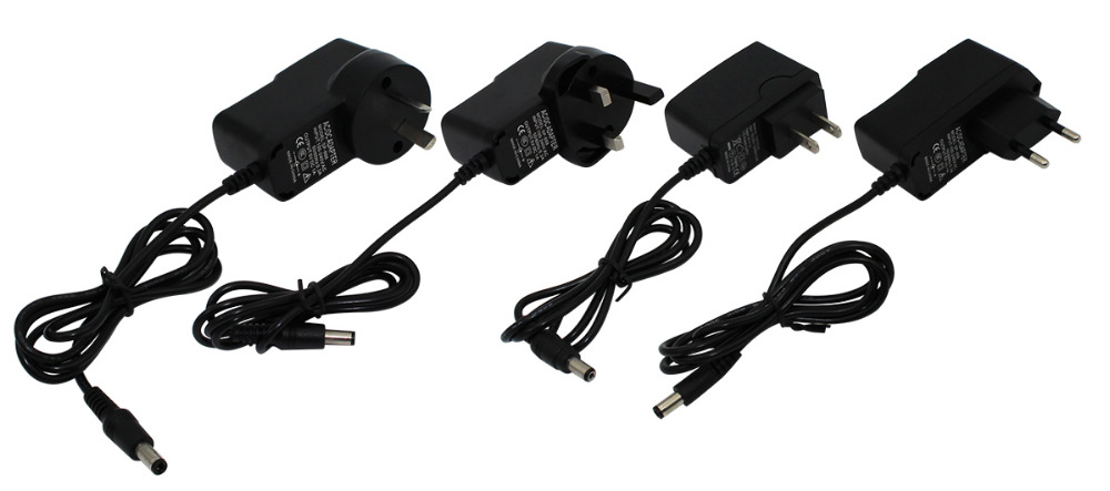 1 PCS 5V 2A DC 3.5mm EU US AU UK Plug Power Supply Adapter Converter Wall Chager For Tablet PCs Free Shipping