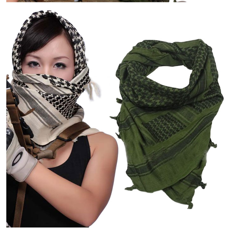 Winter Scarves Women Men Windproof Warmer Military Scarf muslim hijab shemagh  Scarves Arab Tactical Desert Army KeffIyeh Shawl-in Women s Scarves from ... 6c22de977