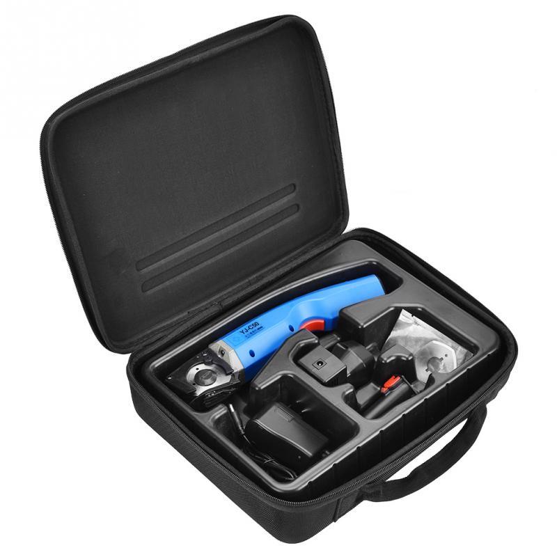 4500rpm 35W Cloth Electric Scissors Cutter Leather Fabric Cutting Machine 100 240V US Plug great wear