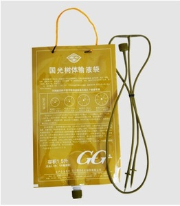 Image 2 - 3Pcs/set 1500ml Home Flower Plant Drip Irrigation System Infusion Bag Tree Infusion Kits Micro Irrigation Garden Supply