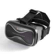 Portable VRD3 Virtual Reality Glasses Helmet MY VR Box Realistic 3D Headset Cardboard For Most Smartphones